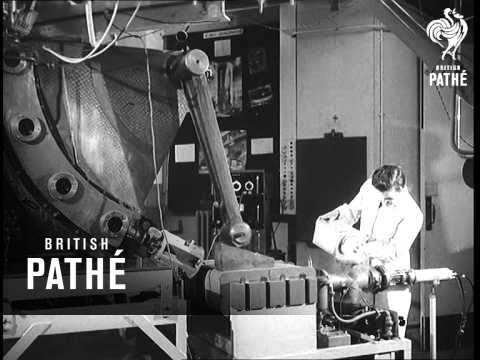 First Private Atom Reactor Aka Aldermaston Atomic Research Reactor (1956)
