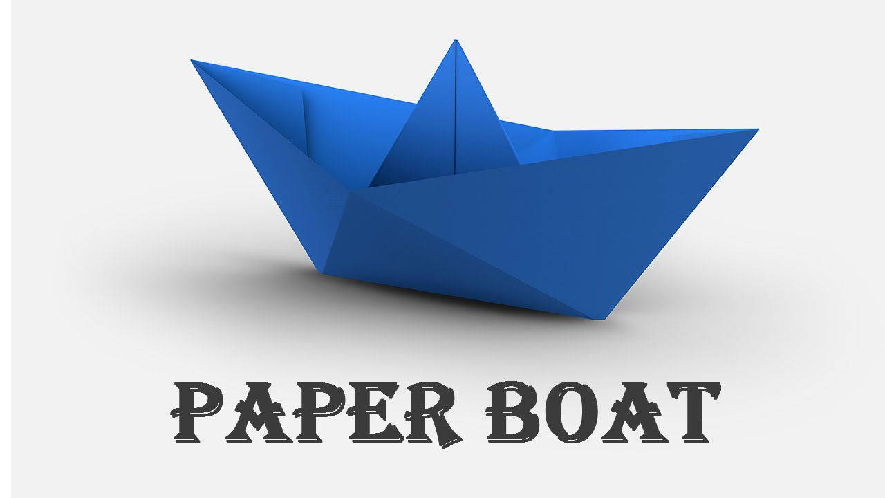 how to make a paper boat origami fast amp easy youtube