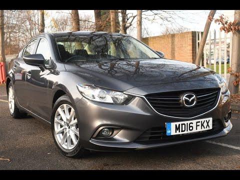Used Mazda 6 2 0 Se Nav 4dr Grey 2016