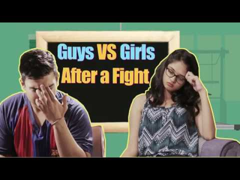 Guys Vs Girls After A Fight | BeBeautiful