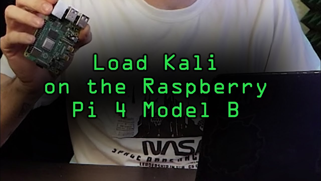 Load Kali Linux on a Raspberry Pi 4 Model B for a Mini Hacking Computer  [Tutorial]