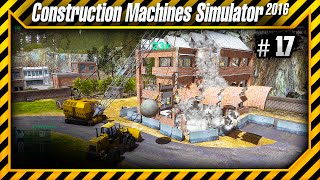 Construction Machines Simulator 2016 - Destruindo Torre do Aeroporto