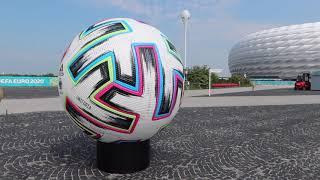 EURO 2021 - die EM Arena München (vorübergehend namenlose Allianz-Arena)
