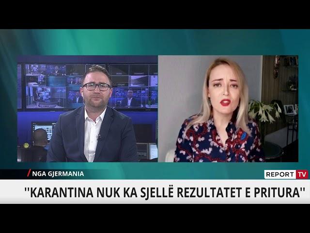 Mjekja Aurora Meta Dollenberg  Pa karantinë, Shqipëria nuk e fiton betejën me COVID 19
