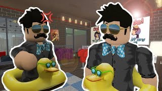 HE THOUGHT I COPIED HIS OUTFIT IN MY BLOXBURG TOWN?!? (Roblox Roleplay)
