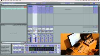 Ableton Live using 2 midi controllers