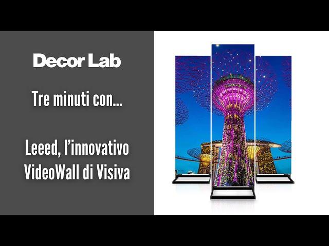 Leeed, l'innovativo VideoWall di Visiva