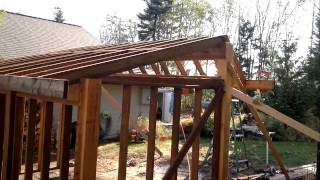 How to build an Awesome Wood Shed from scratch.