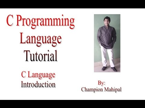 an introduction to the unix and the language c Similarly, c language was developed for programming in the operating system  called unix it was created by dennis richie in 1970's actually.