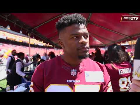 Redskins One-On-One: RB Chris Thompson (4/28/18)
