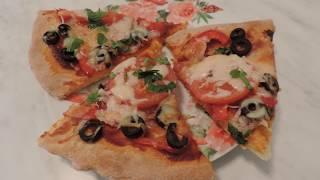 ПИЦЦА. Тесто на кефире. Рецепт Самой Вкусной Тонкой пиццы.