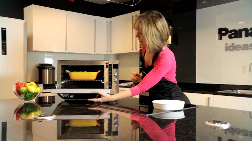 combination cooking convection grill and microwave youtube. Black Bedroom Furniture Sets. Home Design Ideas