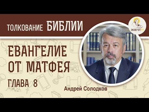 Евангелие от Матфея. Глава 8. Андрей Солодков. Новый Завет