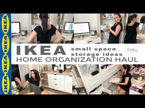 IKEA HOME ORGANIZATION HAUL - SMALL SPACE STORAGE IDEAS || THE SUNDAY STYLIST