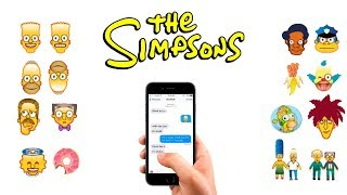 The Simpsons Emoji Keyboard for iOS & Android | Download Emoji