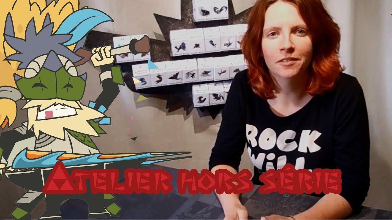 atelier du chasseur hors s rie le calendrier monster hunter youtube. Black Bedroom Furniture Sets. Home Design Ideas