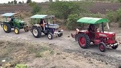Tractors Racing Video | Swaraj 744 FE | Mahindra 575 DI | John Deere 5310 | Come To Village