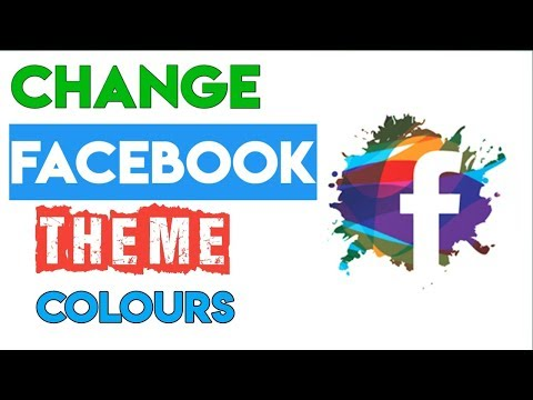 How To Change Facebook Theme Colours And Appearance In Android