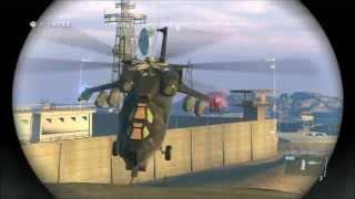 Metal Gear Solid V: Ground Zeroes 基地の外でフレアグレネードを投げてみた