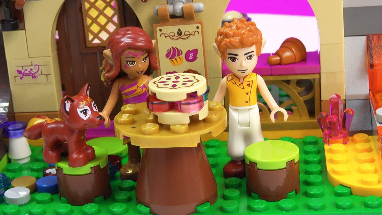 Blind Bag Play LEGO Elves Azari and the Magical Bakery Playset Toy