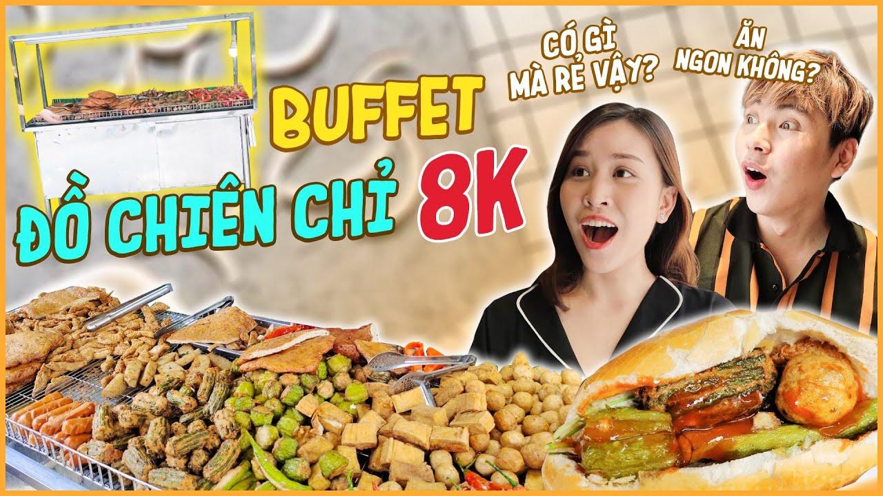 HNAG – Chỉ 8K ăn Buffet ĐỒ CHIÊN Ngon ngất ngây !!!
