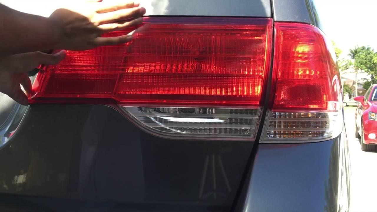 2008 2010 Honda Odyssey Taillight Bulb Amp Assembly