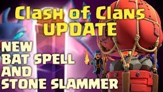 COC Update |  Bat Spell & Stone Slammer | TH12 V TH12 3 Star Using Bat Spell & Stone Slammer