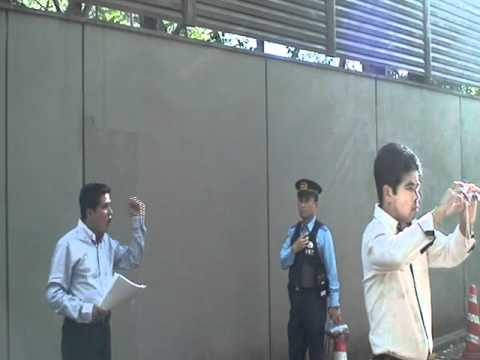 rohingya demostration infront of myanmar embassy in japan, 2011-9-15