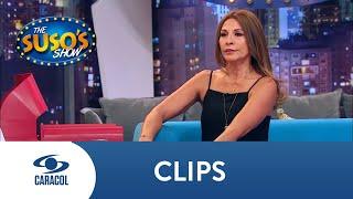 Amparo Grisales habla del beso que le dio a Pipe Bueno | Caracol Televisión
