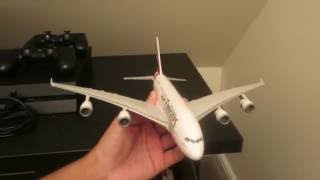 Video Unboxing: Emirates | Airbus A380-800 | Aircraft Model Scale 1:250 download MP3, 3GP, MP4, WEBM, AVI, FLV Agustus 2018