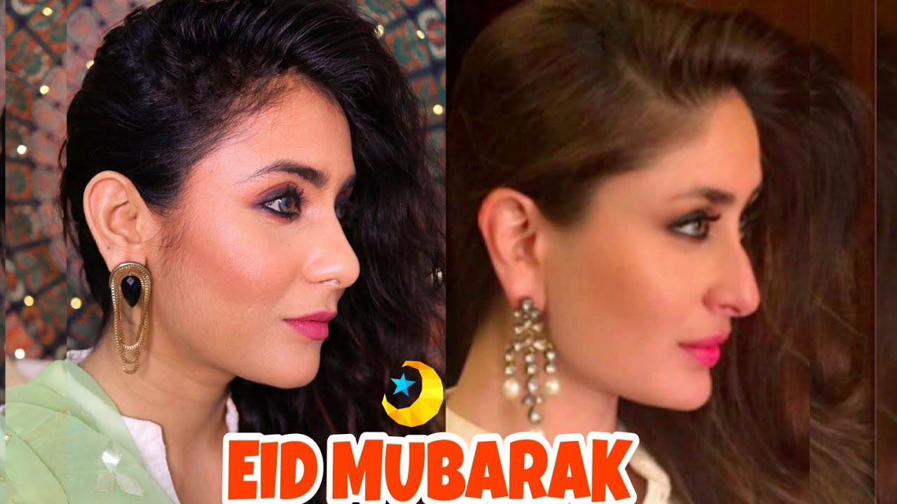Kareena Kapoor Khan Styled EID Makeup Look | Soft Smokey ...