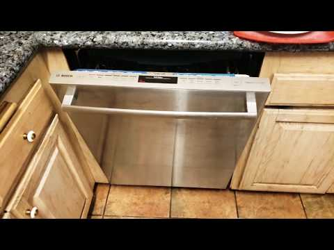 Cleaning a Bosch dishwasher that smells.