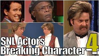 SNL Bloopers & Actors Breaking Character Compilation (Part 4)