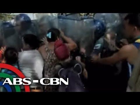 Bandila: Mga residente at pulis, sugatan sa demolisyon sa Naga City