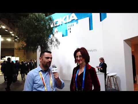 Francesca Sartori, Head of e2e 5G Sales Europe, Mobile Networks, Nokia (MWC 2018)