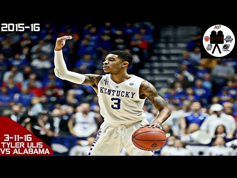Tyler Ulis Full Highlights SEC Tourn vs Alabama (3-11-16) 17 Pts 5 Asts