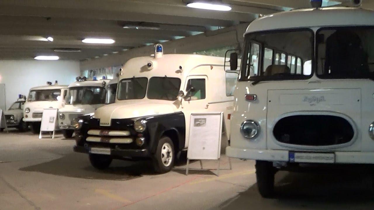 Budapest (Hungary) EMS Museum - old ambulances | Budapest Kresz ...