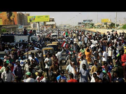 ...السودان: تواصل احتجاجات المؤيدين والمعارضين للحكومة