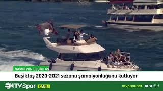 #CANLI | Şampiyon Beşiktaş Kupasına Kavuşuyor