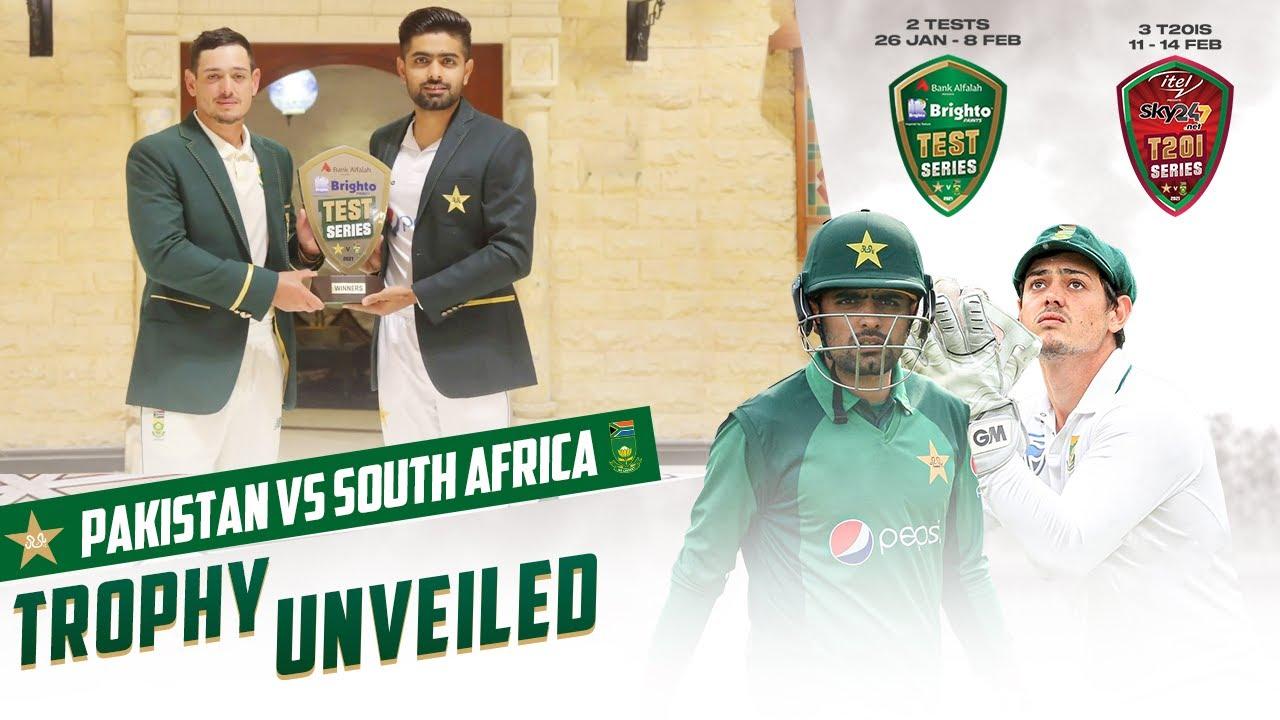 Bank Al-Falah Presents Brighto Paints Pakistan vs South Africa Test Series 2021 Starts Tomorrow