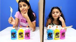 Twin Telepathy Slime Challenge Hadil vs Heidi