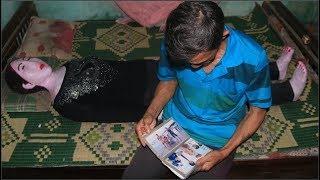 Gặp lại người đàn ông Quảng Nam 19 năm vẫn ôm bức tượng của vợ để ngủ