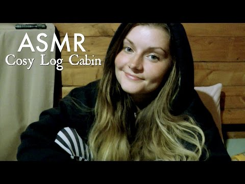Cosy Cabin & Relaxing Rainfall ~ ASMR