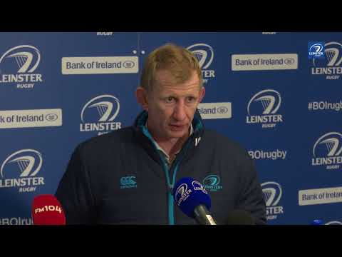 Leinster v Glasgow Warriors | Leo Cullen's post-match reaction