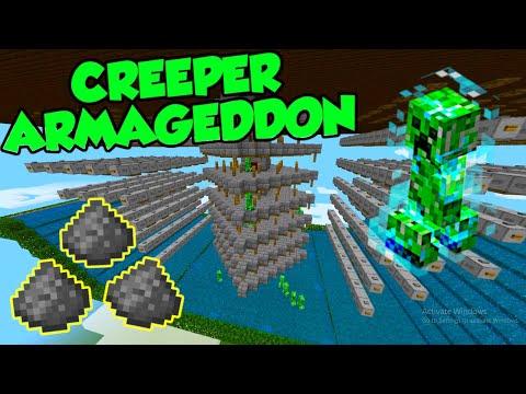 How To Make A Gunpowder Creeper Farm In Minecraft Bedrock Edition