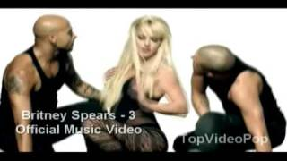 Britney Spears - 3 Official Music Video - Full HD -