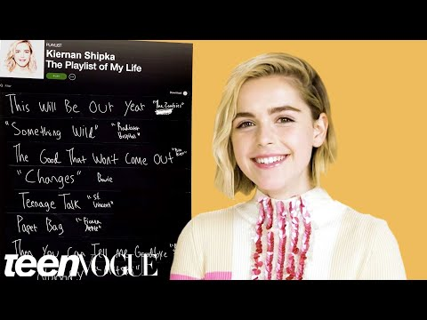 Kiernan Shipka Creates the Playlist to Her Life | Teen Vogue