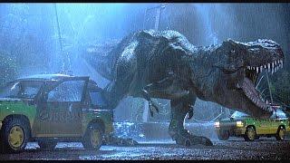 [தமிழ்] Jurassic Park (1993) Dinosar chasing scene in Tamil | Super Scene | HD 720p