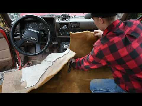 How to install carpet kit in 1984-1988 Toyota pickup truck