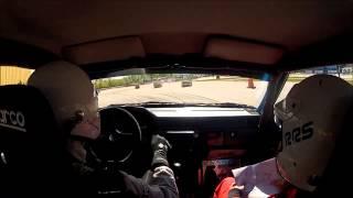 Tingsryd Rallysprint 2015 SS1 - Robin Svensson/Sandra Wybrands